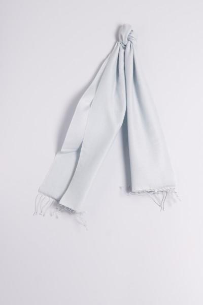 Pashmina 30x150cm bleu clair