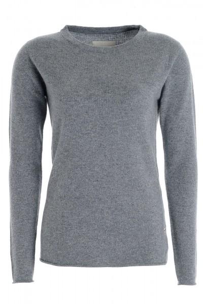 Kaschmirpullover Longsleeve uniform grey