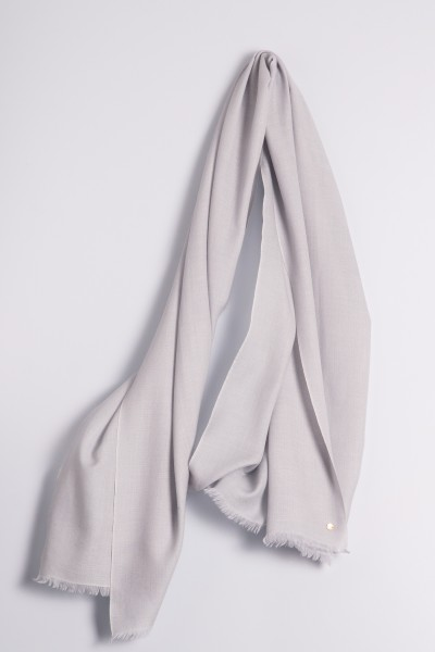 Ring-Pashmina silver gray