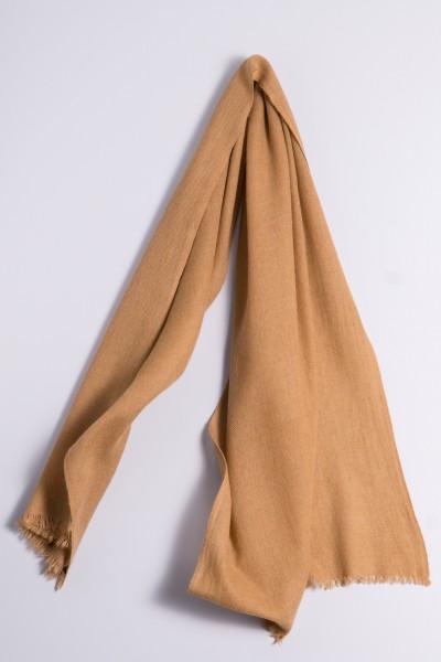 Pashmina naturel laine de chameau