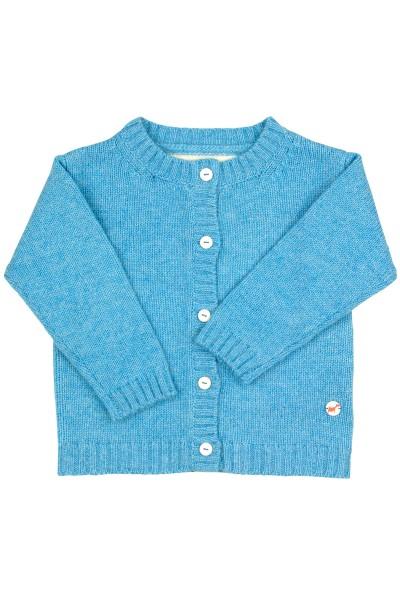 Jersey Cardigan pour bébés en air blue