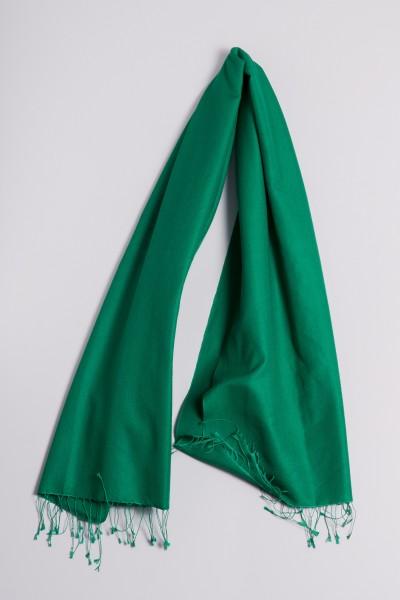 Pashmina 70x200cm vert foncé