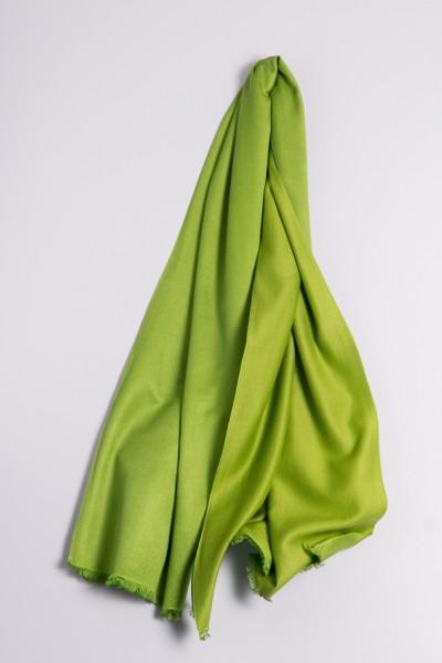 Pashmina Double Face vert pré