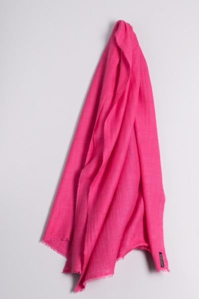 Cachemire écharpe handspun pink