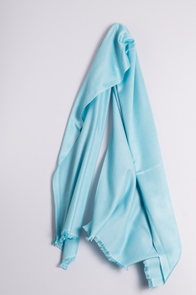 Pashmina Double Face aqua