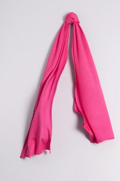 Kaschmirschal Feinstrick pink