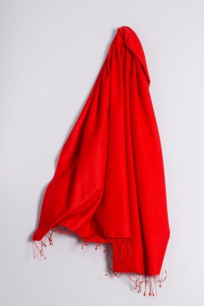 Pashmina 90x200cm rouge