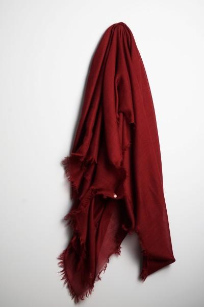 Hot Carré oversize tibetan red