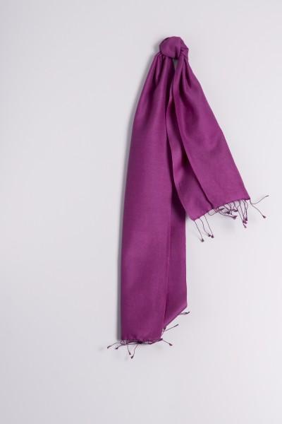 Pashmina 30x150cm lilas