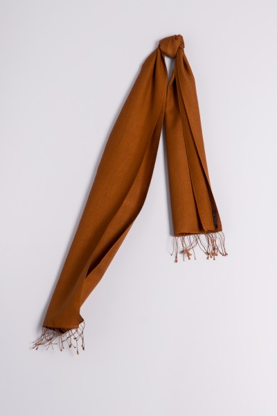 Pashmina 30x150cm bronzé