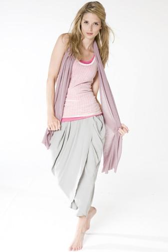 Jersey Silk Shawl keepsake lilac