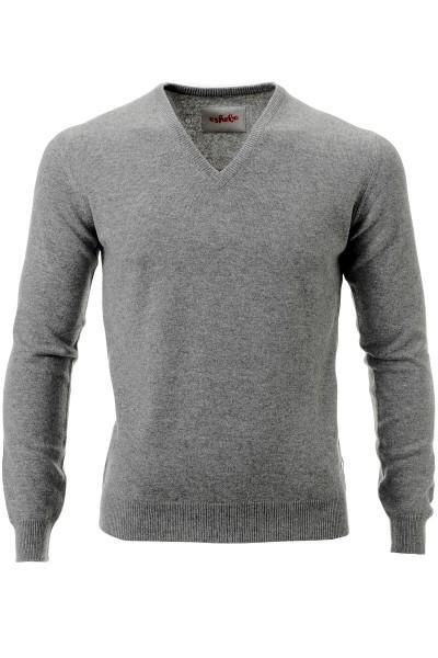 Pull-over en cachemire pour hommes en grey