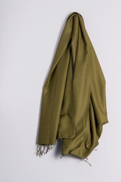Pashmina 90x200cm vert olive