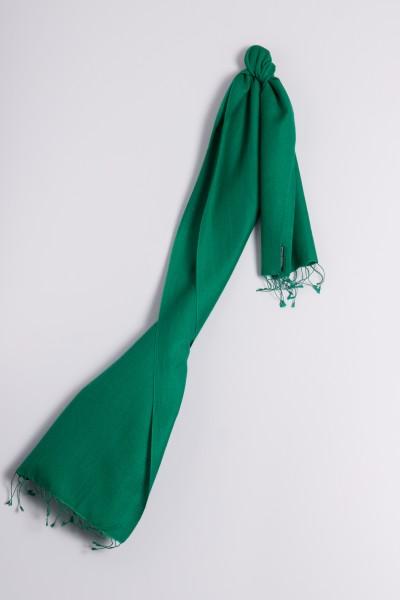 Pashmina 30x150cm vert foncé