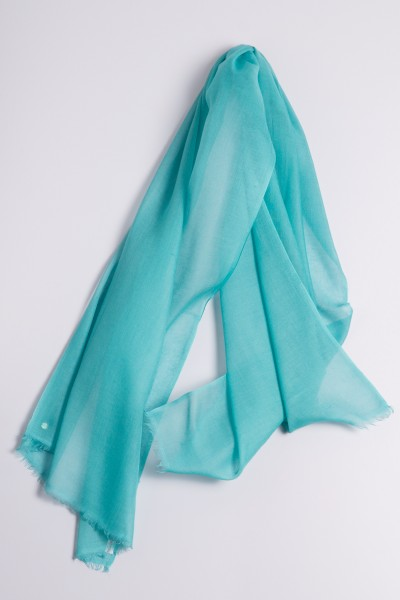 Hot Pashmina blue turquoise