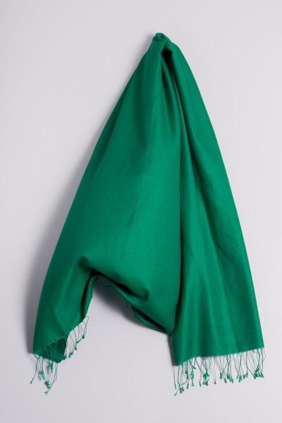 Pashmina 90x200cm vert foncé
