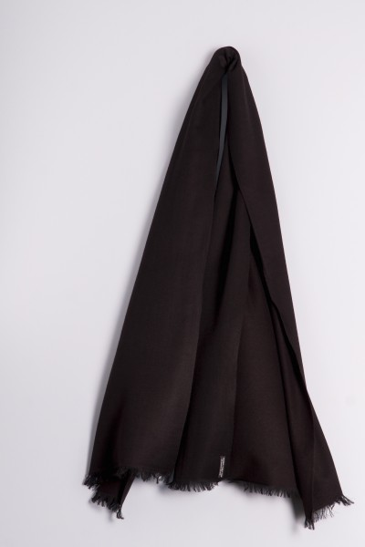 Pashmina Double Face noir