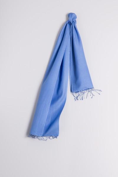 Pashmina 30x150cm bleu ciel