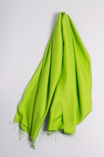 Pashmina 90x200cm vert pré