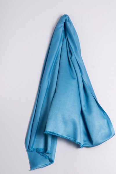 Pashmina Double Face ice blue