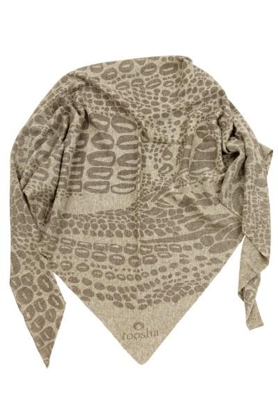 Triangle Croco grey melange