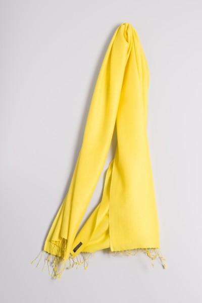 Pashmina 70x200cm jaune