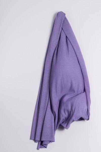 Étole cachemire en tricot fin lavande