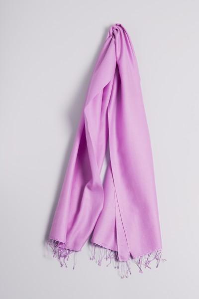 Pashmina 70x200cm lilas clair