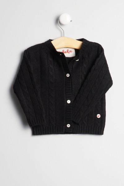 Cardigan pour bébés en black