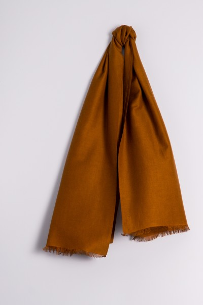 Pashmina 45x180cm bronzé