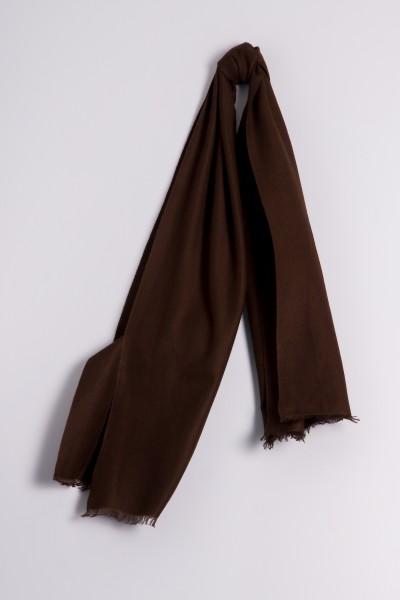 Pashmina 45x180cm marron
