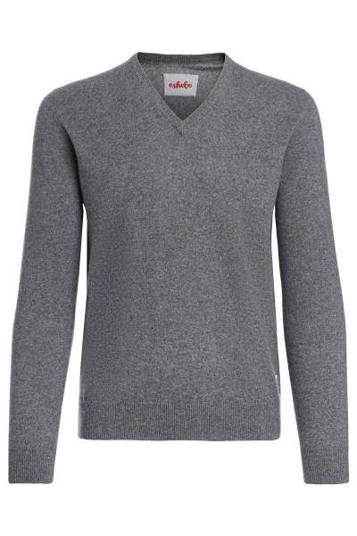 Kaschmirpullover Men derby grey