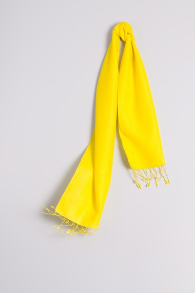 Pashmina 30x150cm jaune