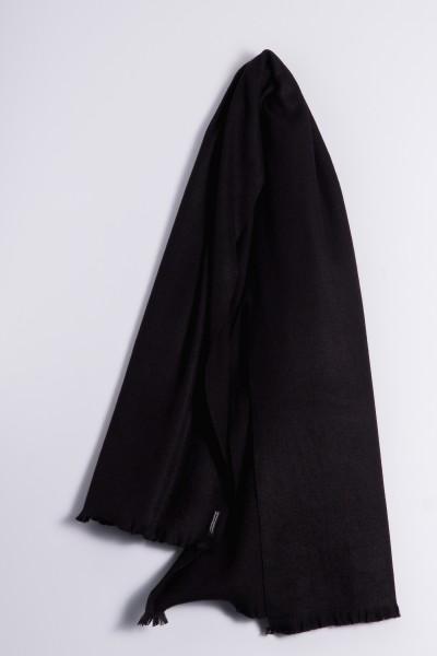 Étole d´hiver 100% cachemire noir