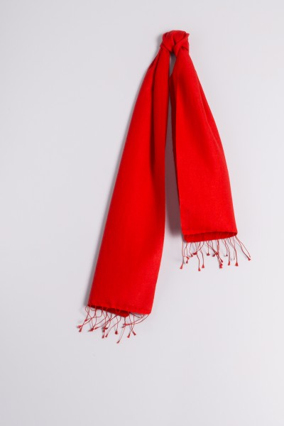 Pashmina 30x150cm rouge