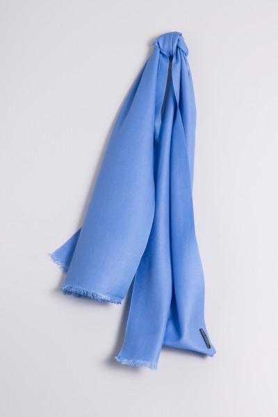 Pashmina 45x180cm bleu ciel