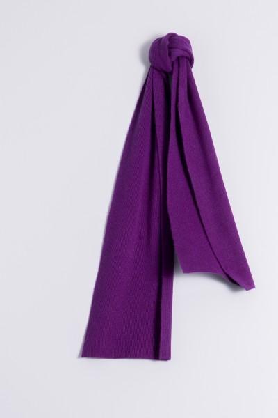 Écharpe 100% Cachemire lilas