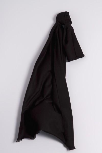 Pashmina 100% cachemire noir