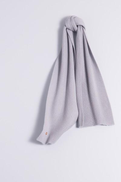 Écharpe 100% Cachemire gris