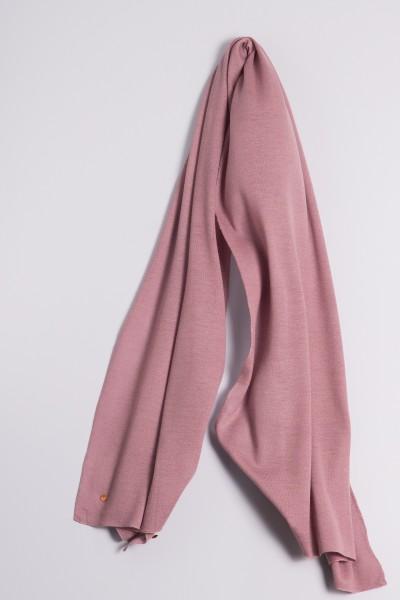 Étole cachemire en tricot fin keepsake lilac