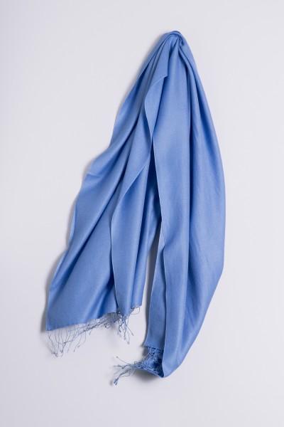 Pashmina 90x200cm bleu ciel