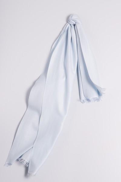 Pashmina 45x180cm bleu clair