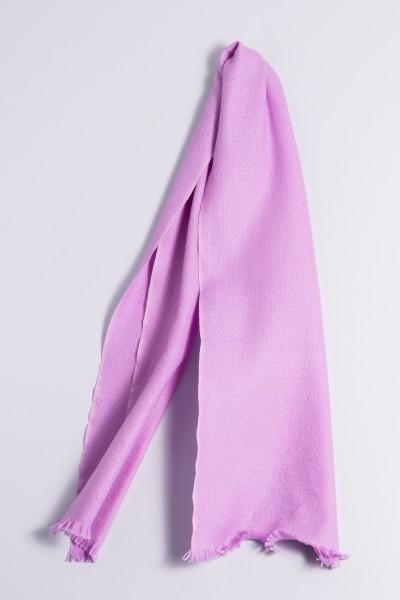 Écharpe d´hiver 100% cachemire lilas clair