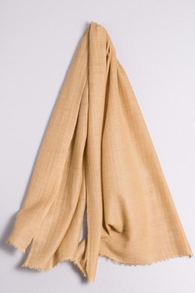 Cachemire écharpe handspun sable