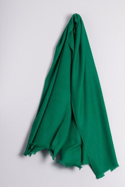 Pashmina 100% cachemire vert foncé