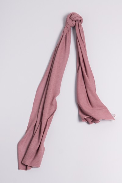 Écharpe cachemire en tricot fin keepsake lilac