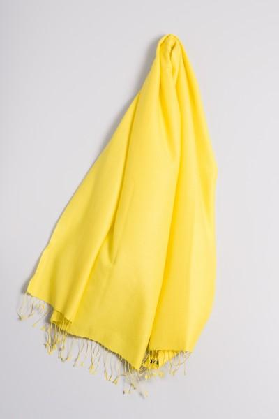 Pashmina 90x200cm jaune