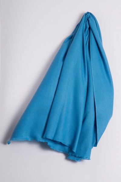 Pashmina 100% cachemire ice blue